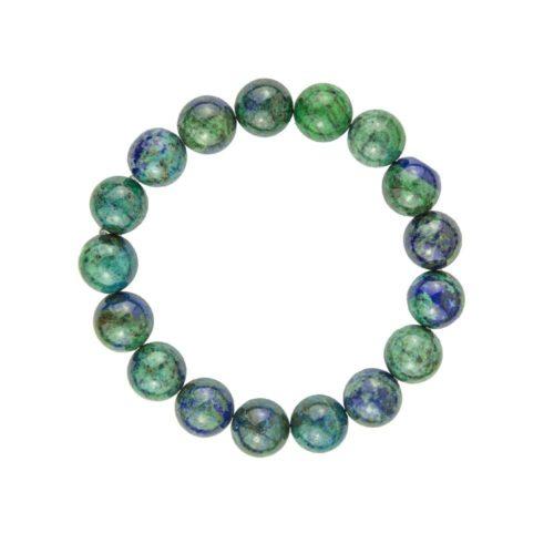 Chrysocolla Bracelet - 10 mm Bead