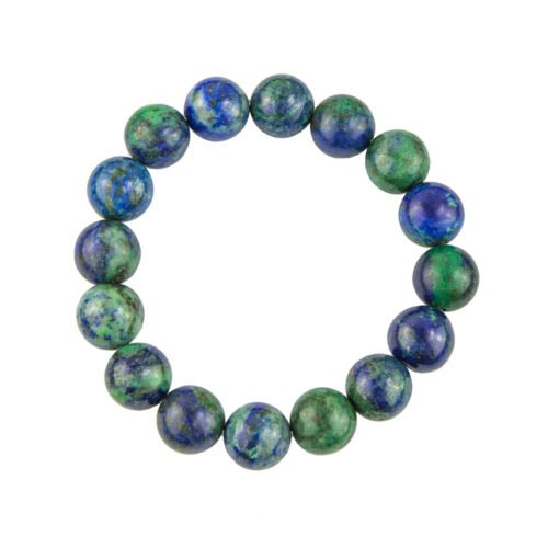 Chrysocolla Bracelet - 12 mm Bead