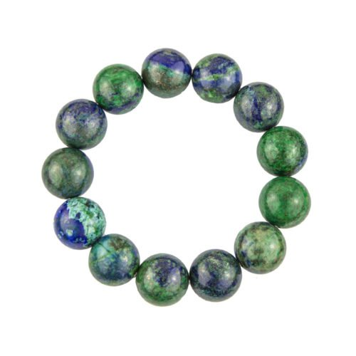 Chrysocolla Bracelet - 14 mm Bead