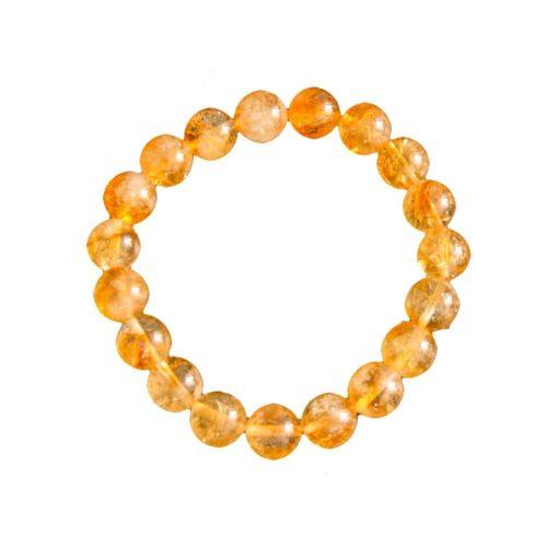 Citrine Bracelet - 10 mm Bead