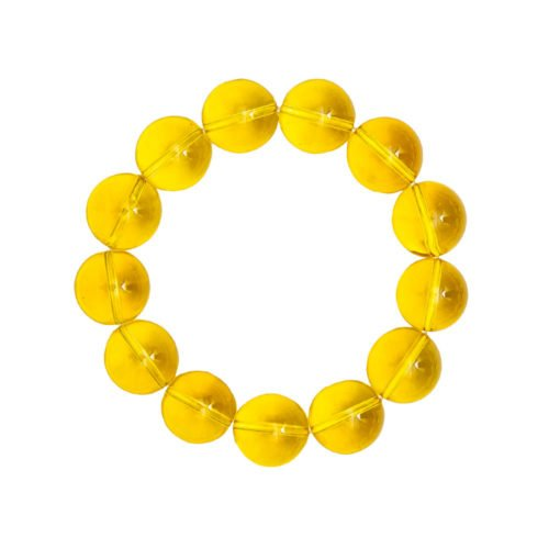 Citrine Bracelet - 14 mm Bead