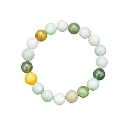 Burmese Jade Bracelet - 10 mm Bead
