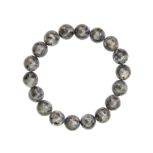 Labradorite Bracelet with Inclusions - 10 mm Bead