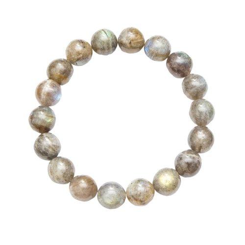 Labradorite Bracelet - 10 mm Bead