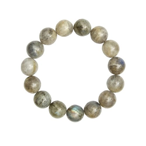 Labradorite Bracelet - 12 mm Bead