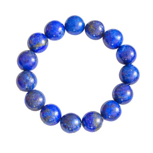 Lapis Lazuli Bracelet - 12 mm Bead