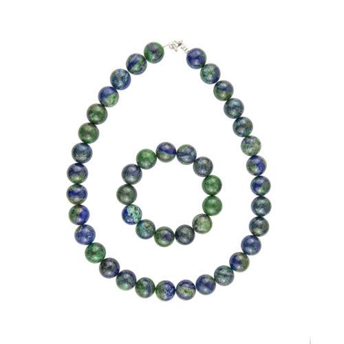Chrysocolla Gift Set - 14 mm Bead