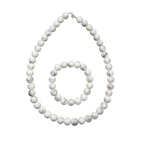 Howlite Gift Set - 10 mm Bead