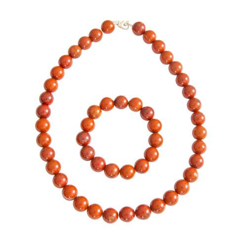 Red Jasper Gift Set - 12 mm Bead