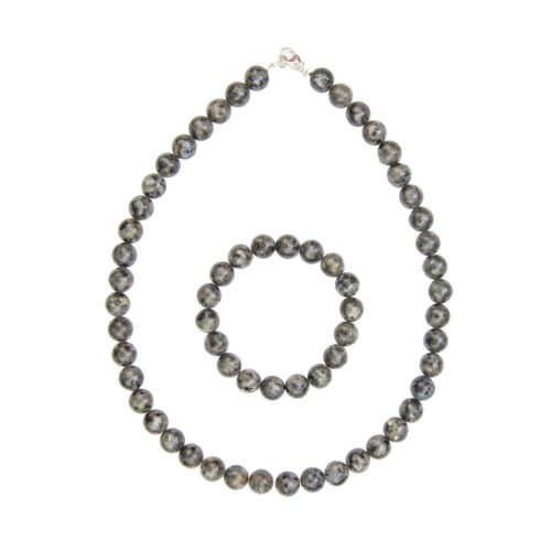 Labradorite Gift Set with Inclusions - 10 mm Bead