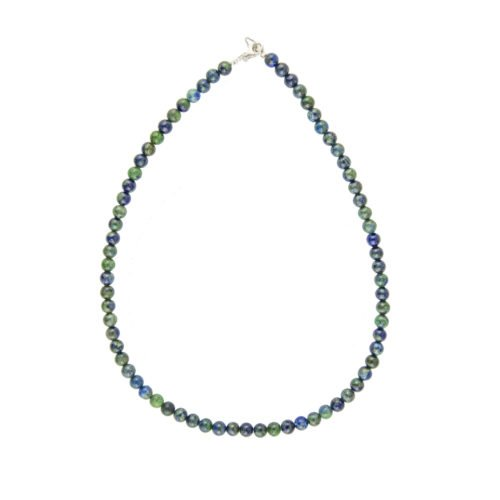 Chrysocolla Necklace - 6 mm Bead