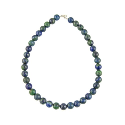 Chrysocolla Necklace - 12 mm Bead