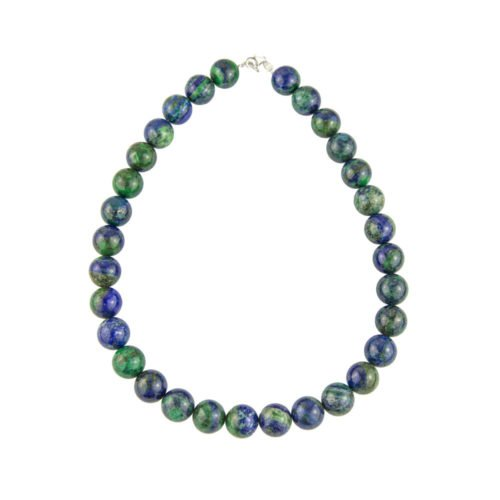 Chrysocolla Necklace - 14 mm Bead
