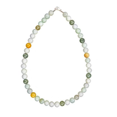 Burmese Jade Necklace - 10 mm Bead