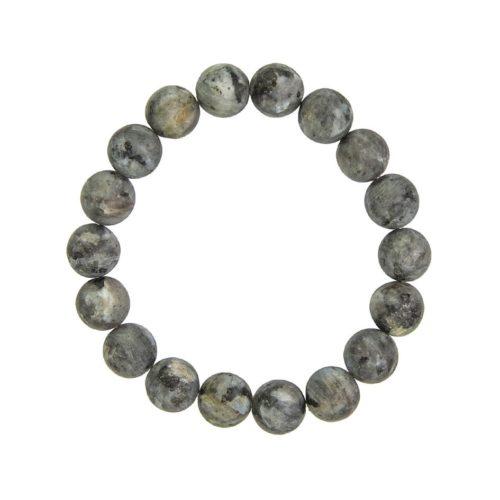 Larvikite Bracelet - 10 mm Bead