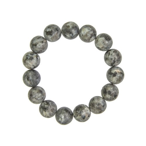 Larvikite Bracelet - 12 mm Bead