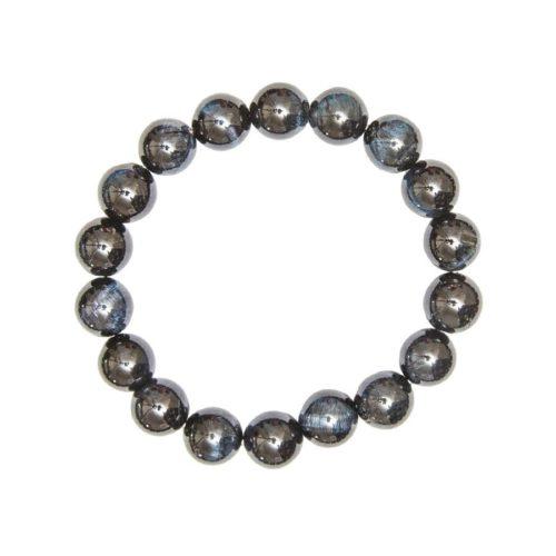 Falcon's Eye Bracelet - 10 mm Bead