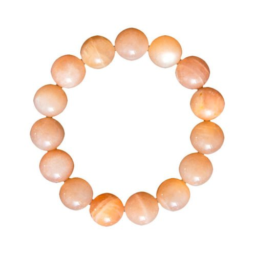 Sunstone Bracelet - 12 mm Bead