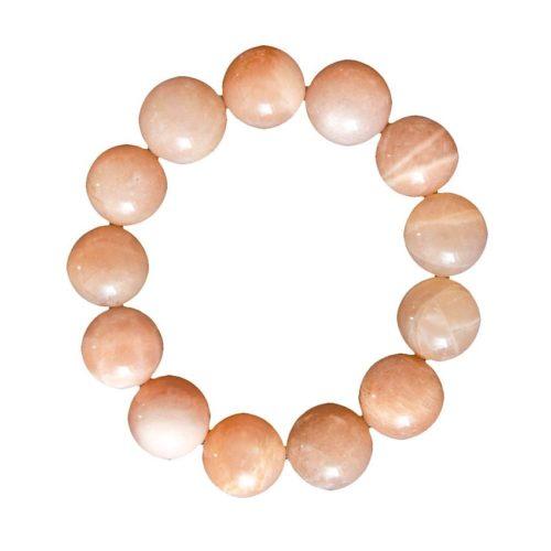 Sunstone Bracelet - 14 mm Bead