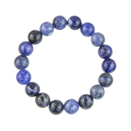 bracelet sodalite pierres boules 10mm