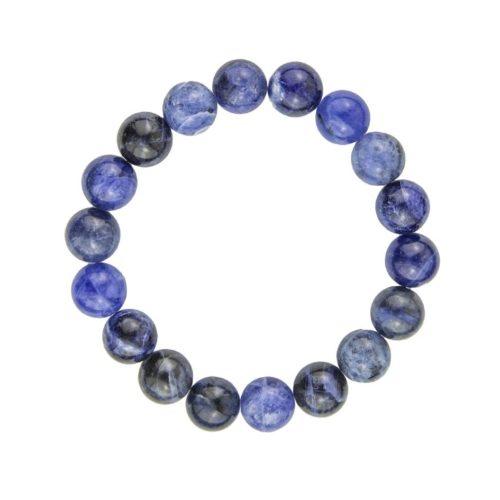 Sodalite Bracelet - 10 mm Bead