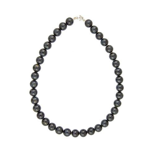 Falcon's Eye Necklace - 12 mm Bead