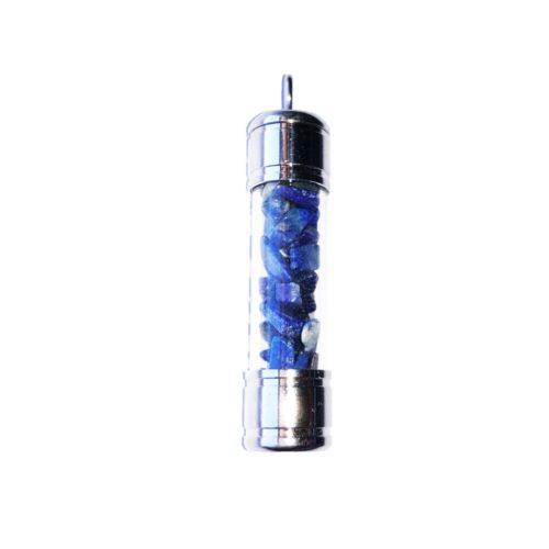 pendentif lapis lazuli tube