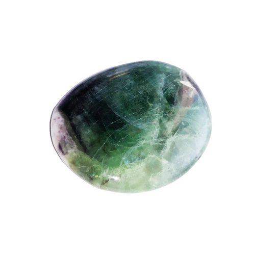 Multicoloured Fluorite Pebble