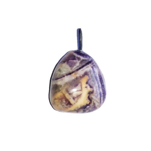 Charoïte Pendant - Tumbled Stone