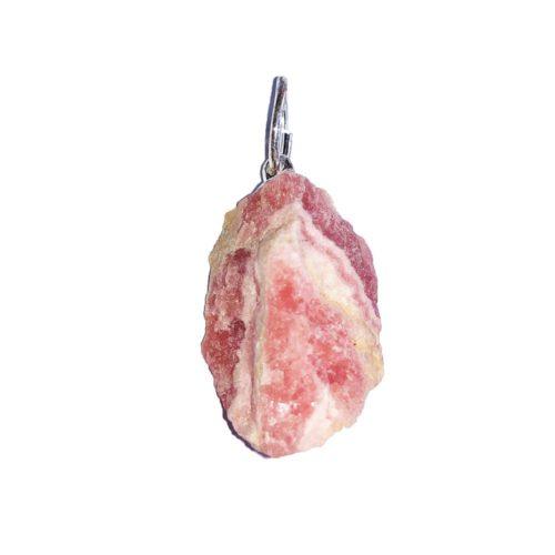 Rhodocrosite Pendant - Raw Stone