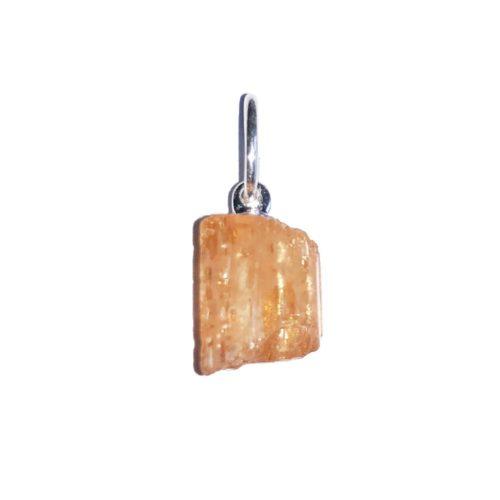 Imperial Topaz Pendant - Raw Stone
