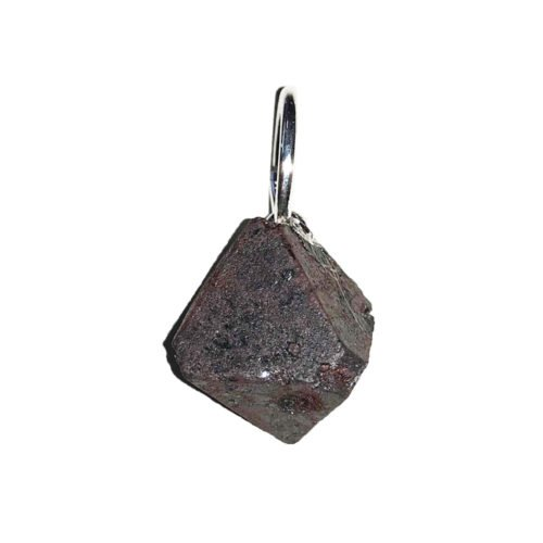 Magnetite Pendant - Raw Stone