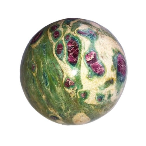 Ruby with Fuschite Pendant - 60 mm