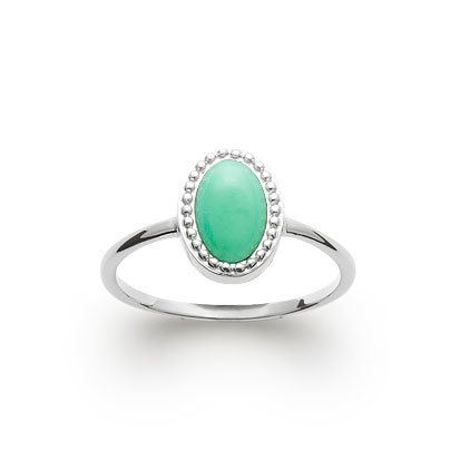 Aventurine 'Alexandra' Ring - Silver 925