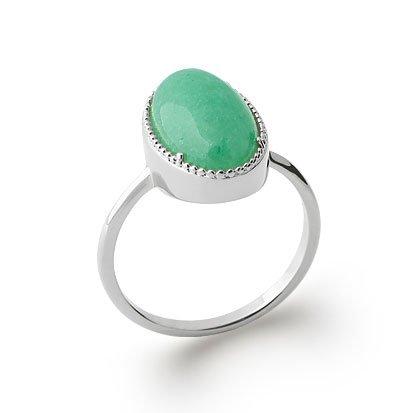 Aventurine 'Judith' Ring - Silver 925