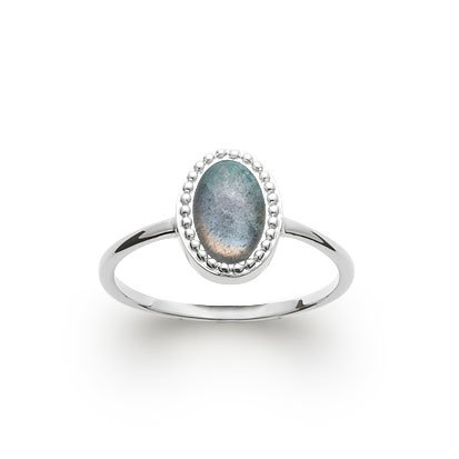 Labradorite 'Alexandra' Ring - Silver 925