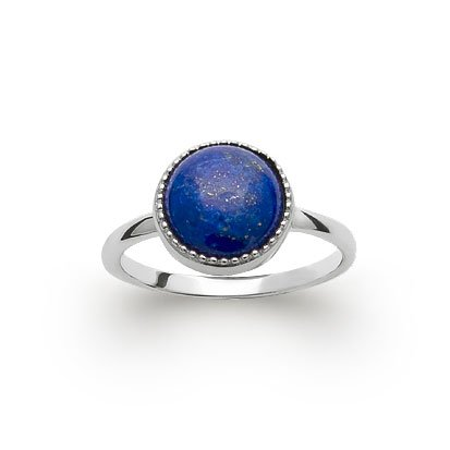 Lapis Lazuli 'Constantine' Ring - Silver 925