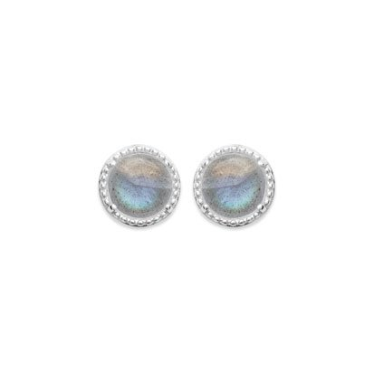 Labradorite 'Constantine' Earrings - Silver 925