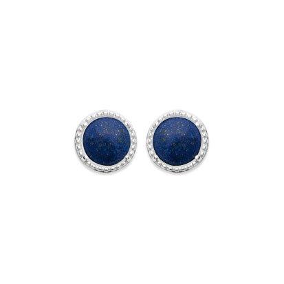Lapis Lazuli 'Constantine' Earrings - Silver 925