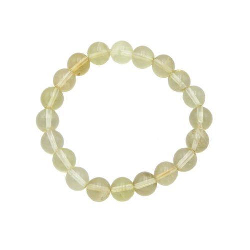 Lemon Topaz Bracelet - 10 mm Bead
