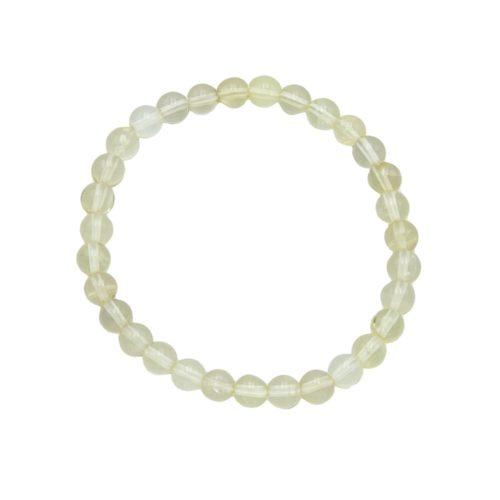 Lemon Topaz Bracelet - 6 mm Bead