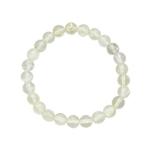 Lemon Topaz Bracelet - 8 mm Bead