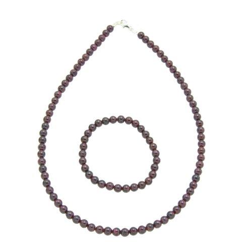 Red Garnet Gift Set - 6 mm Bead