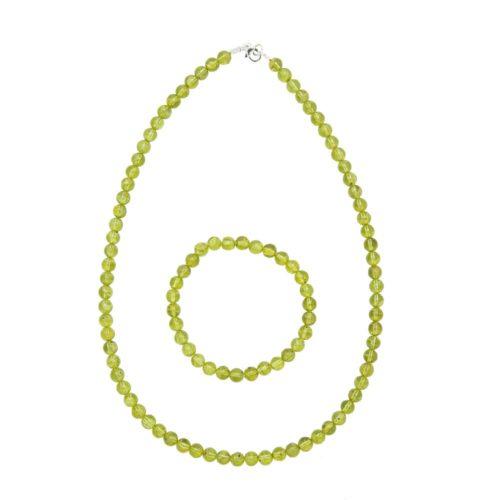 Peridot Gift Set - 6 mm Bead