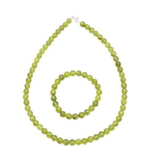 Peridot Gift Set - 8 mm Bead