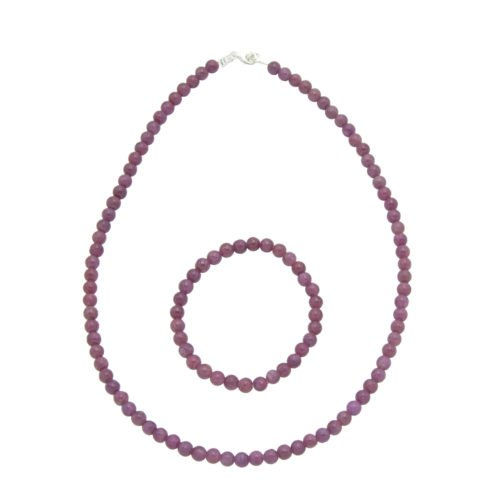 Ruby Gift Set - 6 mm Bead