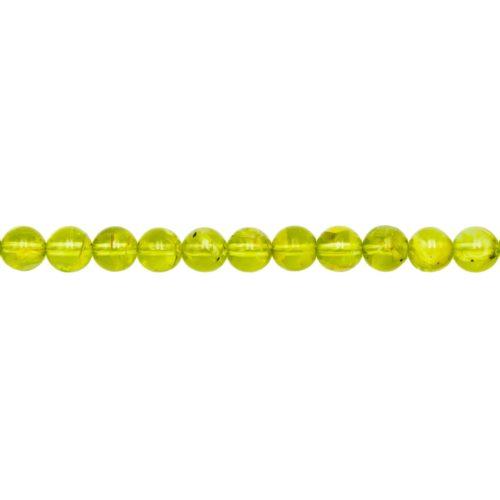 Peridot Line - 6 mm Bead