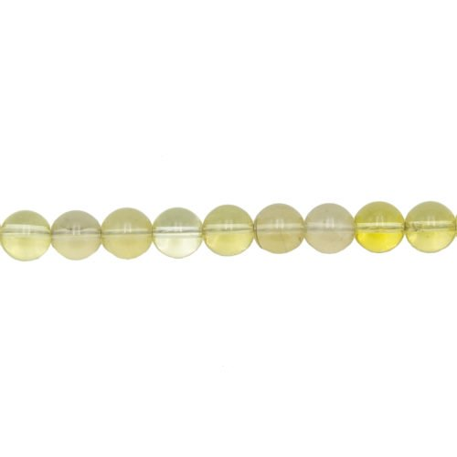Lemon Topaz Line - 10 mm Bead