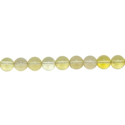 Lemon Topaz Line - 10 mm Bead