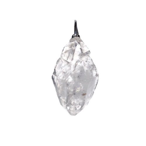 Herkimer Diamond Pendant - Raw Stone